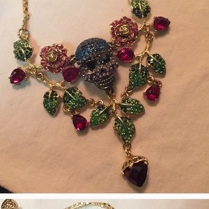 NWT Betsey Johnson Earrings and necklace